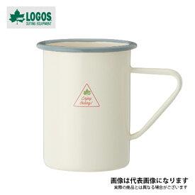 LOGOS LIFE ホーローマグ ブルー 81280030 ロゴス アウトドア キャンプ 用品 マグカップ コップ