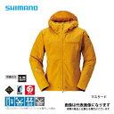 ゴアテックス エクスプローラーウォームジャケット マスタード XLサイズ RB-01JS シマノ 【在庫処分特価】