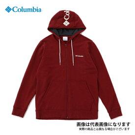 コロンビアロッジフルジップフーディ 664 Red Jasper XL AE0254 コロンビア