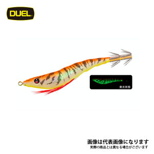 EZ-SLIM 布巻 95mm LOG 夜光オレンジ A1627-LOG デュエル スッテ イカメタル 仕掛け [sttdr]