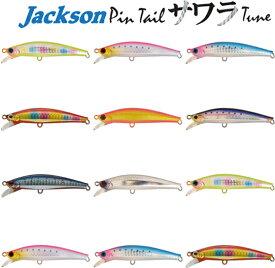 【2020年新色追加】ジャクソン(Jackson) ピンテール サワラチューン 35g 【ネコポス配送可】