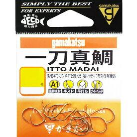 がまかつ(Gamakatsu) A1 一刀真鯛 9号 【ネコポス配送可】