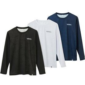 バリバス(VARIVAS) ロングドライTシャツ (M〜LL) VAT-45 ホワイト 【ネコポス配送可】