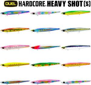 デュエル(DUEL) ハードコア ヘビーショット 125mm F1210 【ネコポス配送可】