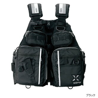 Shimano XEFO系统性的阻挡漂浮茄克VF-281I[黑色]