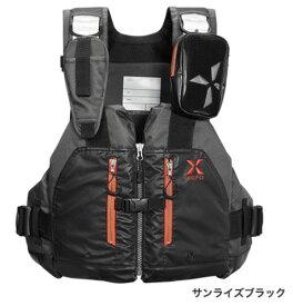 シマノ XEFO ロックトラバースベスト VF−297Q〔サンライズブラック〕