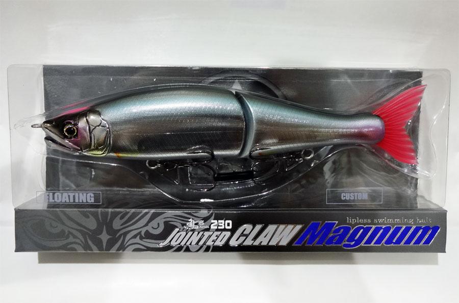 ガンクラフト 鮎邪 ジョインテッドクローマグナム 230F TS−06:ピンクヘッド琵琶湖ハス