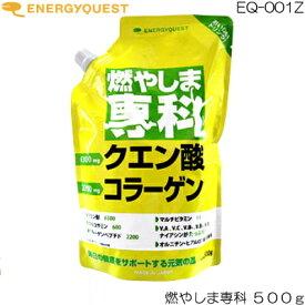 エナジークエスト 燃やしま専科 レモン風味 500g EQ-001Z
