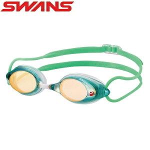 スイムゴーグル レーシング ゴーグル 水泳 競泳 FINA承認 ミラーゴーグル クッション付き SWANS スワンズ PREMIUM ANTI-FOG 曇り止め SRX-MPAF-GOR