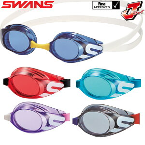 スイムゴーグル レーシング ゴーグル 水泳 競泳 SWANS スワンズ J ジェイ FINA承認 ジュニア 子供用 クリアゴーグル ノンクッション SR-11JN