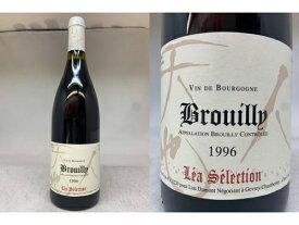 """赤:[1996] ブルイィ ルージュ(ルー・デュモン レア・セレクション)Brouilly """"Lea Selection"""" (Lou Dumont)【NVSC】"""