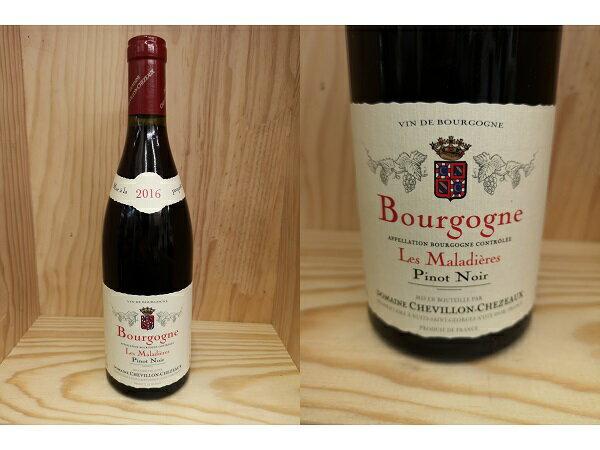 """2016:[2016] ブルゴーニュ """"マラディエール"""" ピノ・ノワール (シュヴィヨン・シェゾー)Bourgogne """"Maladieres"""" Pinot Noir (Chevillon Chezeaux)"""