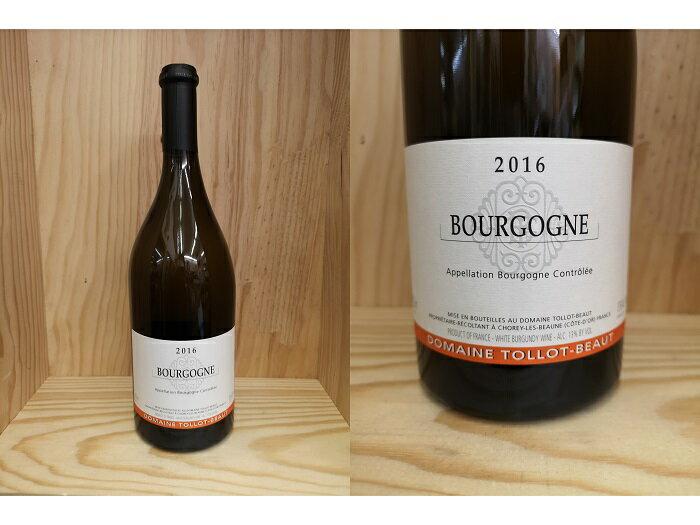 白:[2016] ブルゴーニュ・ブラン(トロ・ボー) Bourgogne Blanc (Tollot-Beaut)