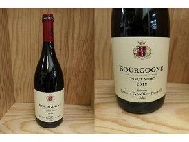12:[2012] ブルゴーニュ ピノ・ノワール (ロベール・グロフィエ)Bourgogne Pinot Noir (Robert Groffier)