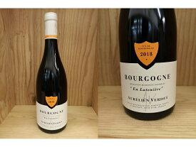 """赤:BRG18:[2018] ブルゴーニュ ルージュ """"アン・リュトゥニエール""""(オレリアン・ヴェルデ) Bourgogne Rouge """" En Luteniere"""" (Aurelien Verdet)オーレリアン"""