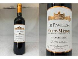 赤:[2000] ル・パヴィヨン (オー・メドック)Le Pavillon (Haut-Medoc)