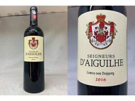 [2016] セニョール・ド・デギュイユ (カスティヨン コート・ド・ボルドー)Segneurs d'Aiguilhe (Castillon Cotes de Bordeaux )