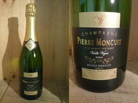 """[2004] ピエール・モンキュイ """"キュヴェ ニコル・モンキュイ"""" ヴィエイユ・ヴィーニュ Pierre Moncuit Nicole Moncuit Vieilles Vignes"""