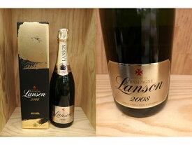 箱付:[2008] ランソン ゴールド・ラベル ブリュット・ヴィンテージ Lanson Gold Label Brut Vintage