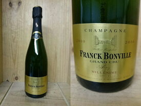 [2010] フランク・ボンヴィル ミレジム ブラン・ド・ブラン グラン・クリュFranck Bonville Millesime Blanc de Blanc Grand Cru