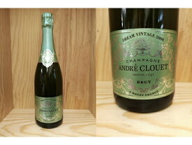 """正規品:[2008] アンドレ・クルエ """"ドリーム・ヴィンテージ"""" バージョン1 Andre Clouet"""
