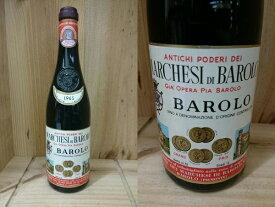 [1965] バローロ (マルケージ・ディ・バローロ) Barolo (Marchesi di Barolo)