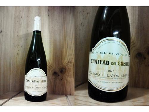 [1972] コトー・デュ・レイヨン ボーリュー (シャトー・デュ・ブルイユ)Coteaux du Layon Beaulieu (Chateau du Breuil)