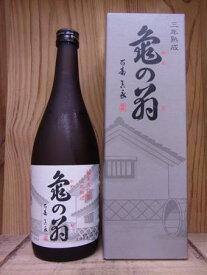 清泉 亀の翁 純米大吟醸(三年熟成) 720ml 【新潟県・久須美酒造】