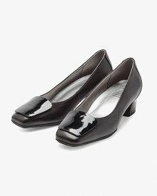 外反母趾 靴 フィットフィット fitfit レザーバックルヒールニーカー コンフォートシューズ レディース おしゃれ パンプス