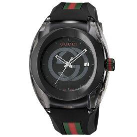 グッチ GUCCI 腕時計 SYNC ラバーベルトMウォッチ YA137107A  ギフトラッピング無料