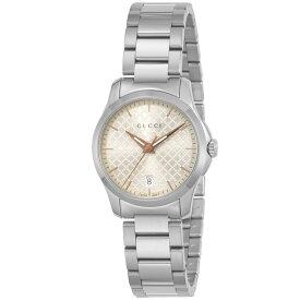 グッチ GUCCI 腕時計 Gタイムレス ラウンドステンLウォッチ YYA126593  ギフトラッピング無料