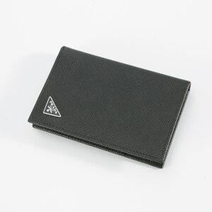 【8月5日限定★ポイント5倍】プラダ PRADA カードケース SAF.TRIANGOLOカードケース/NERO 2MC101-QHH  ギフトラッピング無料
