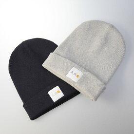 アー・ペー・セー A.P.C. ニット帽 正面ロゴニットキャップ COEGD/F25062/01  ギフトラッピング無料