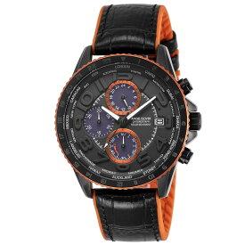 【10月20日限定★ポイント5倍】エンジェルクローバー ANGEL CLOVER 腕時計 MONDO クロノソーラーレザー×ラバーベルト M MOS44BK-BK  ギフトラッピング無料