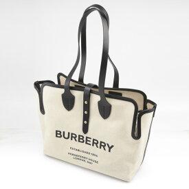 バーバリー BURBERRY トートバッグ MDソフトコットンキャンバスベルトトート 8031318  ギフトラッピング無料
