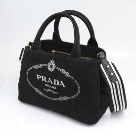 プラダ PRADA ハンド・トートバッグ CANAPAトートストライプSD付/NE-TA 1BG439-ROO-ZKI  ギフトラッピング無料