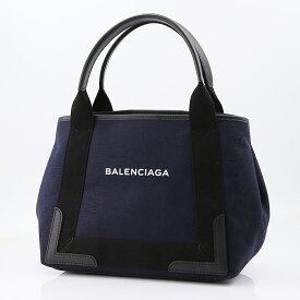バレンシアガ BALENCIAGA トートバッグ NAVY CABAS SMキャンバス 339933K9H1N ブルー/ブラック  ギフトラッピング無料