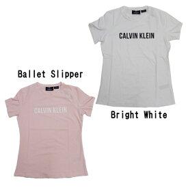 カルバンクラインパフォーマンス レディースロゴTシャツ (Mサイズ)[Calvin Klein]