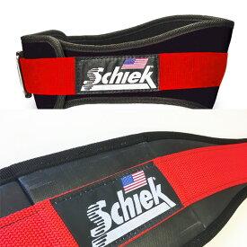 (XS・XLサイズ)シーク パワーリフティングベルト No.3004 [Schiek] 筋トレ トレーニングベルト