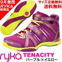 [RYKA]ライカ フィットネスシューズ TENACITY<テナシティー> C8149M-C500 〔パープル×イエロー〕(22.0〜28.0cm/レディース/...