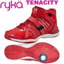 [RYKA]ライカフィットネス TENACITY 〔レッド/ペイズリー柄〕 E1269B-M601(22.0〜28.0cm/レディース/メンズ)<テナ…