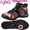 [RYKA]ライカ TENACITY 〔マルチ×ブラック〕 E1269M-U005(22.0〜28.0cm/レディース/メンズ)<テナシティー>【フィットネス・ダンス…
