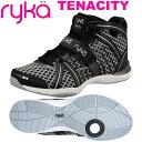 [RYKA]ライカフィットネス TENACITY 〔ブラック/格子柄〕 E1269M-W006(22.0〜26.5cm/レディース/メンズ)<テナシテ…