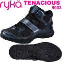 [RYKA]ライカ フィットネス TENACIOUS 〔ブラック〕 E6643M-6003(22.0〜28.0cm/レディース/メンズ)<テナシオス>【…