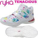 [RYKA]ライカ TENACIOUS 〔フラワー×ホワイト〕 E6643M-C103(22.0〜26.5cm/レディース/メンズ)<テナシオス>【フィットネス・ダン…