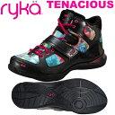 [RYKA]ライカフィットネス TENACIOUS 〔ブラック/フラワー柄〕 E6643M-D403(22.0〜26.5cm/レディース/メンズ)<テナ…