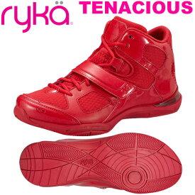 [RYKA]ライカフィットネス TENACIOUS 〔レッド〕 E6643M-J603(22.0〜28.0cm/レディース/メンズ)<テナシオス>【ダンスシューズ】【19FW09】【正規品】/送料無料
