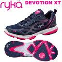 [RYKA]ライカフィットネス DEVOTION XT 〔ネイビー×ピンク〕 F0180M-1400(22.5〜25.0cm/レディース/メンズ)<ディ…