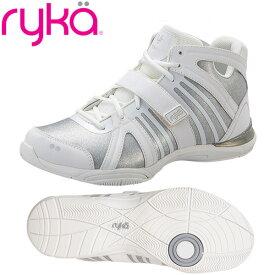[RYKA]ライカフィットネス TENACITY 〔ホワイト×グリッター〕 C8149M-D104(22.0〜28.0cm/レディース/メンズ)<テナシティー>【ダンスシューズ】【20SS04】【正規品】