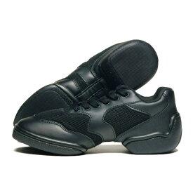 [Chacott]チャコット ダンシングスニーカー スプリットソール ローカット〔ブラック〕 【ダンスシューズ】 (レディース) 【チャコット正規販売店/送料無料
